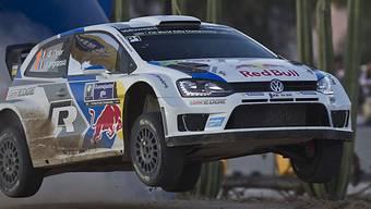 VW-Pilot Ogier gewinnt Mexiko-Rallye