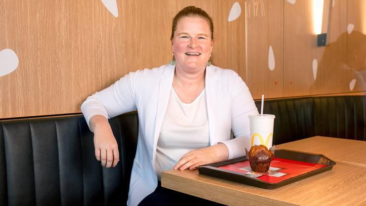 Aglaë Strachwitz ist die neue Chefin von McDonalds Schweiz.