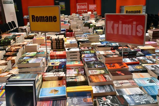 Viele Bücher gibts hier zu kaufen