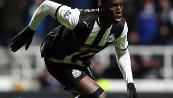 Newcastles Demba Ba eröffnete das Skore gegen ManU.