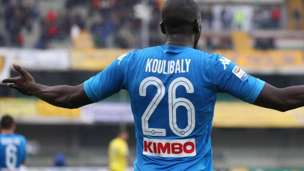 Versteht bei Napolis 0:0 in Verona gegen Chievo die Welt nicht mehr: Kalidou Koulibaly