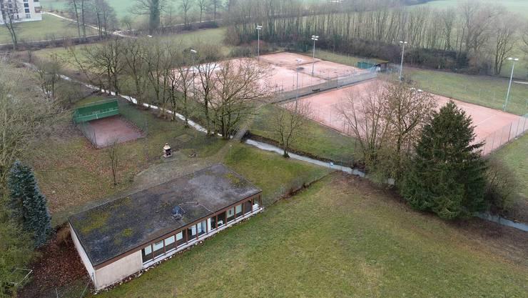 Der Tennisplatz Gheid: Der Tennisclub Sunlight hat sich von ihm bereits verabschiedet. Folgt ihm bald auch der Tennis-Club Olten?