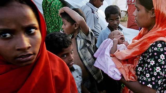 2006 - ein Flüchtlingslager in Sri Lanka (Archiv)