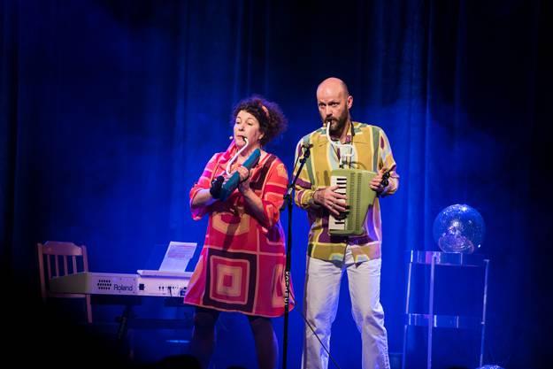 Das Komiker-Duo Studer und Stampfli entzückte das Publikum.