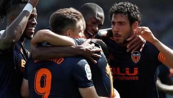 Valencia kann in der Liga endlich jubeln