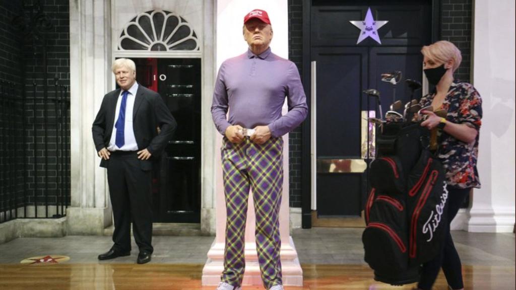 Trump neu eingekleidet