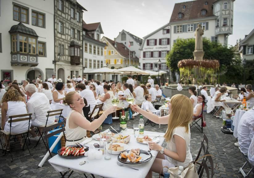 Ob es gewisse Teilnehmer auch noch schaffen, nur weisse Dinge zu essen? (Archivbild: St.Galler Tagblatt)