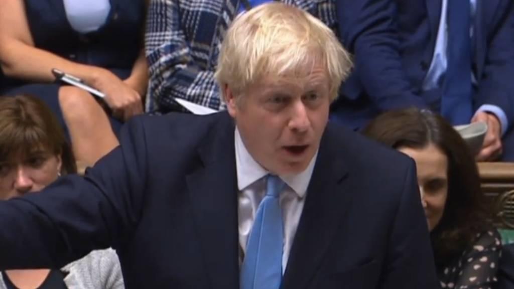 Boris Johnson scheitert mit Antrag auf Neuwahlen