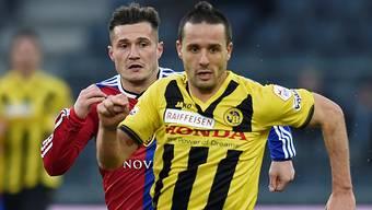 Voller Euphorie nach dem Sieg gegen Basel: Raphael Nuzzolo.