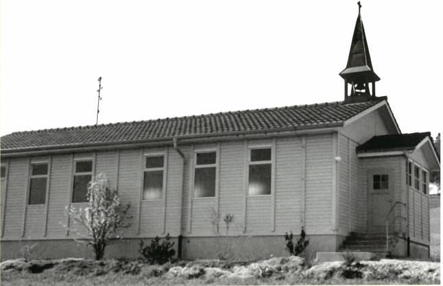 Die Notkapelle wurde 1969 in den Bucheggberg gezügelt