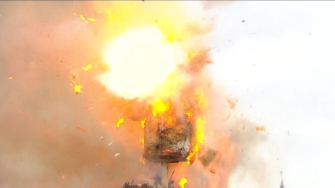 Böögg-Explosion 2019: 17 Minuten und 44 Sekunden