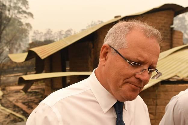 In der Kritik: Der australische Premier Scott Morrison.
