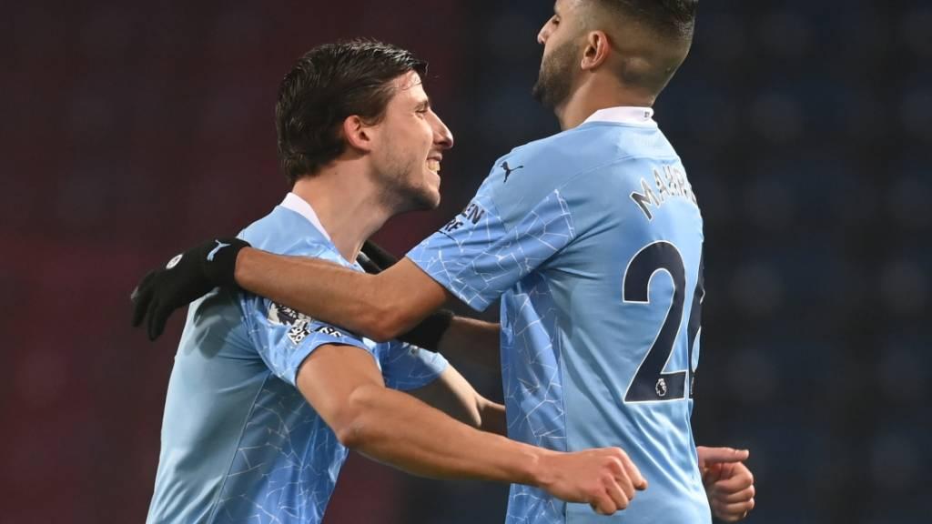 Manchester City dank sechstem Sieg in Folge neuer Leader