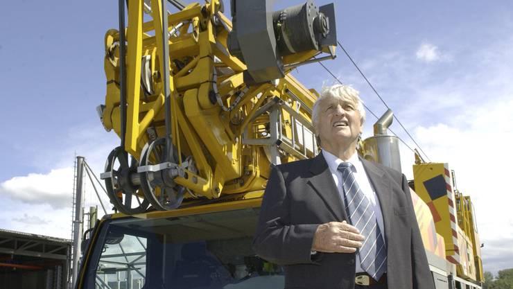 Der gelernte Schlossermeister Heinz Senn im Jahr 2007.