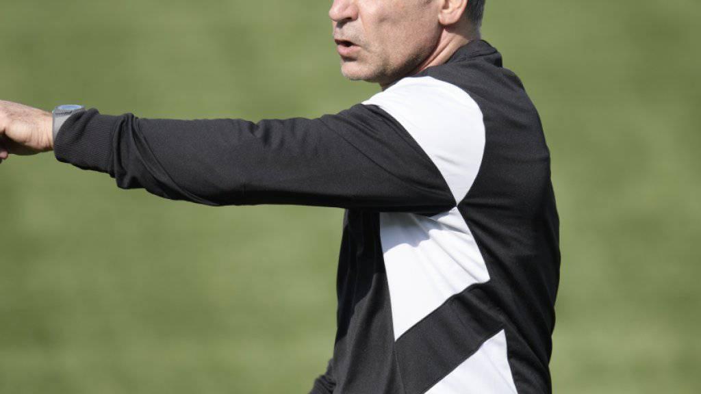 Maurizio Jacobacci ist wieder Trainer des Fanionteams im FC Sion