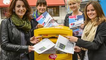 Mehr junge Erwachsene zum Wählen bewegen: Das war das Ziel der easyvote-Kampagne. Gefruchtet hat sie wohl nicht. Die Wahlbeteiligung der Jungen wird wahrscheinlich bei rund einem Drittel verharren. (Archiv)