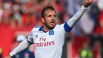 Rafael van der Vaart (im Bild als HSV-Captain im Jahre 2013) tritt zurück