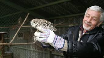 Der Vogelvater Marcel Laederach gibt die Storchenstation ab