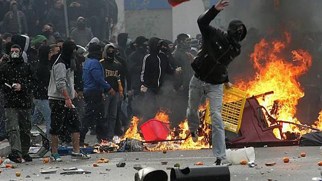 Proteste in Griechenland gehen weiter
