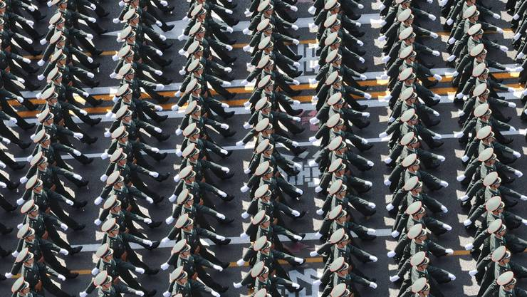 Längst nicht nur Fassade: Machtdemonstrationen des chinesischen Militärs. Xie Huanchi/Xinhua/Key