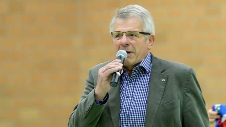Sm'Aesch Pfeffingens Präsident Werner Schmid zieht sich zurück.