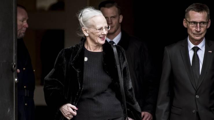 Sie bedankte sich beim Volk für die tröstenden Worte: die dänische Königin Margrethe II.