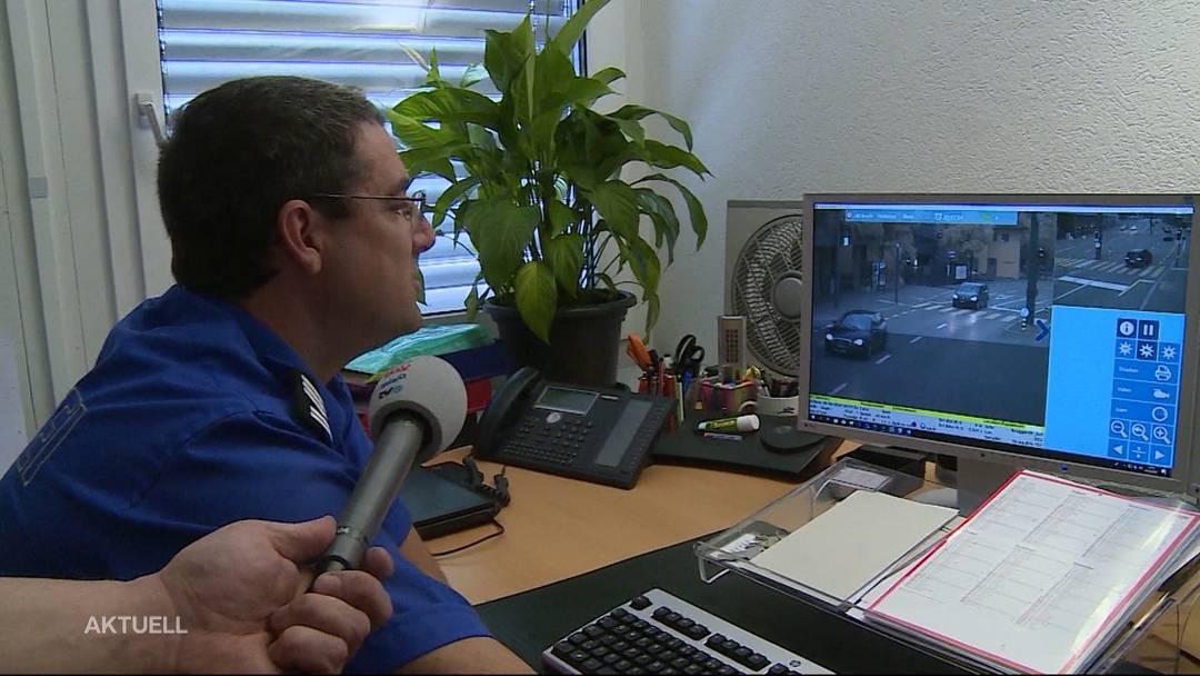 Tele M1 testet den ersten fixen Blitzer im Aargau