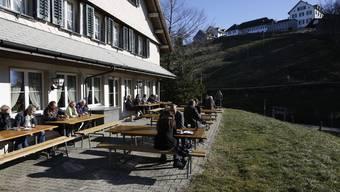Restaurant Sennhaus Weissenstein © Hanspeter Baertschi Pressefotograf