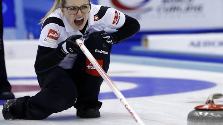 Alina Pätz mit vollem Einsatz schon zu WM-Beginn