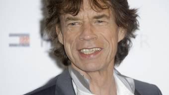 Mick Jagger steht bei den Grammy Awards erstmals auf der Bühne (Archiv)
