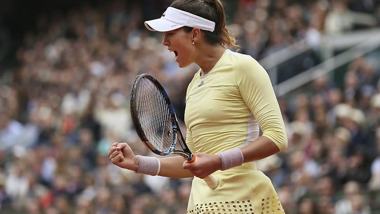 Premiere für Garbiñe Muguruza in Paris