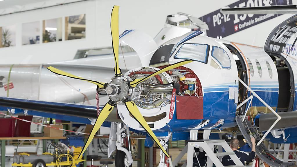 Ruag Aerostructures liefert weiterhin Teile für Turboprop-Flugzeuge von Pilatus. (Archivbild)