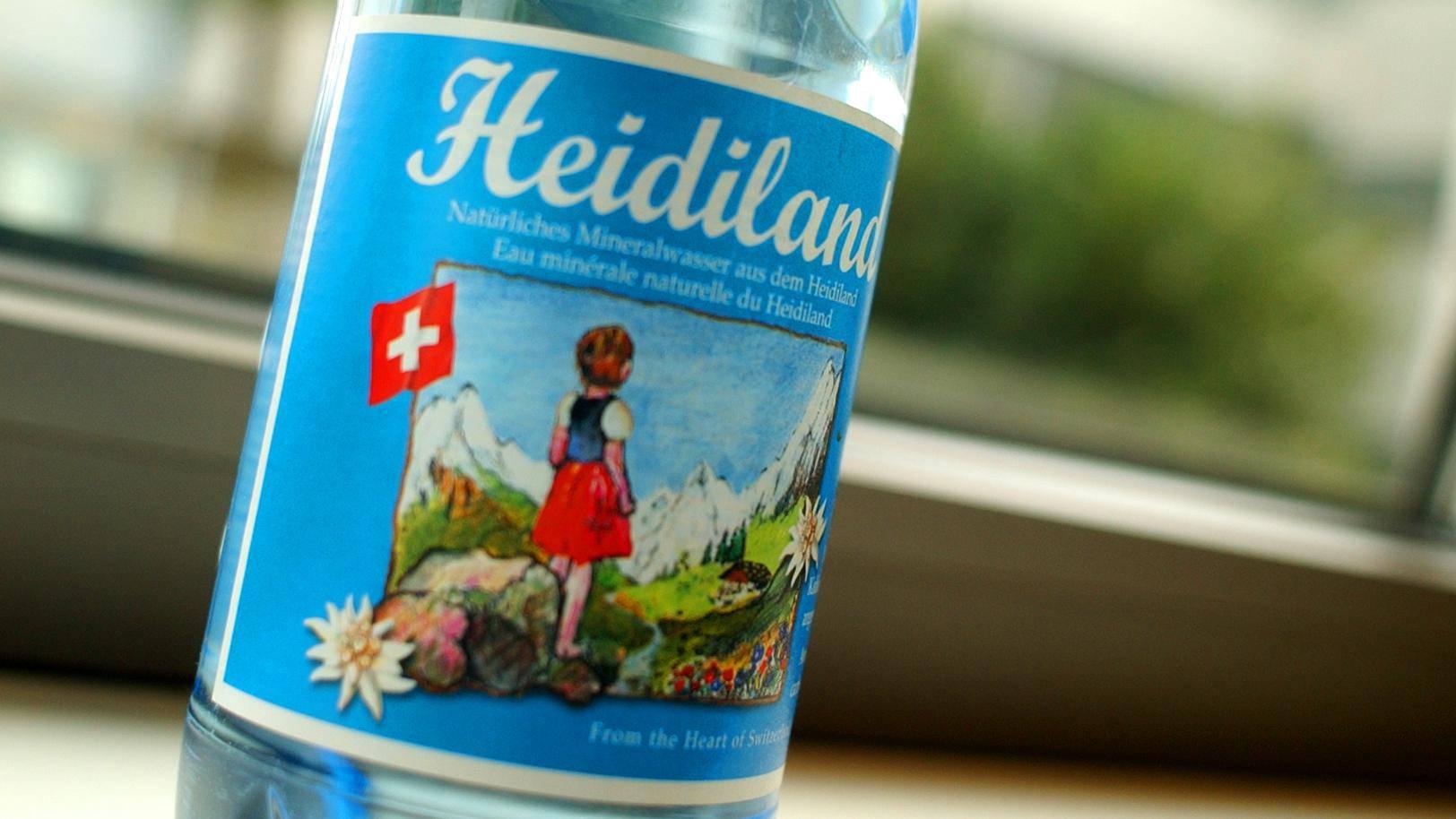 Es gibt kein «Heidiland»-Wasser mehr. (Archiv)
