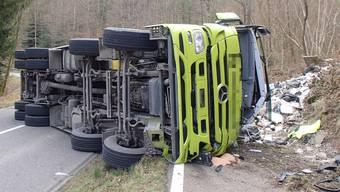 Unfall zwischen Mülligen und Windisch