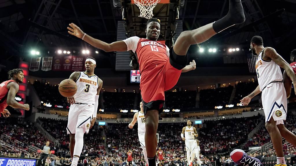 Die Rockets finden zum Siegen zurück
