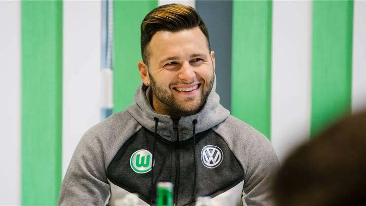 Renato Steffen aus Erlinsbach AG kam bei Wolfsburg in den Relegationsspielen zu wichtigen Einsätzen.