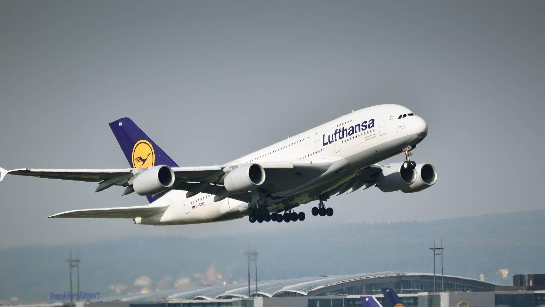 Streik: Lufthansa streicht mehr als 800 Flüge