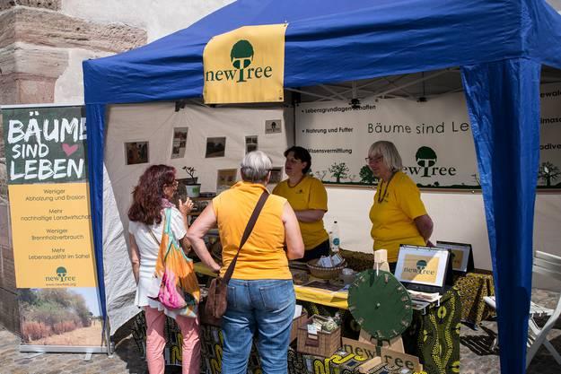 Das Ecofestival auf dem Barfi lockt mit diversen Ständen rund um das Thema Nachhaltigkeit.
