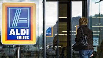 Aldi hat in Rekordzeit einen hohen Marktanteil erobert (Archiv)