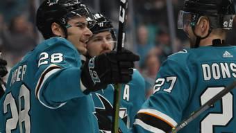 Für Timo Meier und die San Jose Sharks ist die Saison in der NHL noch nicht zu Ende