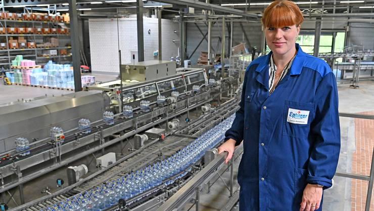 Damaris Buchenhorner ist seit fast zehn Jahren Teil des Familienunternehmens Eptingen AG. Lostorf beschreibt sie als «wichtiges Standbein für unser Unternehmen».