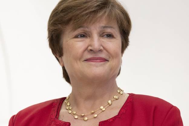 Kristalina Georgieva, neue Chefin des Internationalen Währungsfonds, warnt vor einem synchronen Abschwung der Weltwirtschaft. Bild: Michael Reynolds/EPA