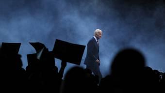 Nebulös könnte es werden - wie bei Joe Bidens Wahlkampfauftritt in Iowa im November 2019.