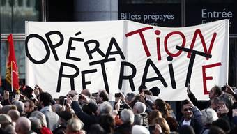 Auch die Oper in Paris wird bestreikt. (Bild vom 17. Dezember)