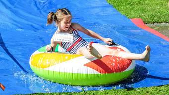 Schnappschüsse vom Spiel- und Sporttag der Wohler Kindergärten