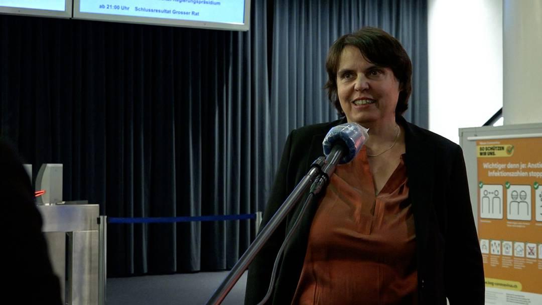"""Grünen-Regierungspräsidentin Elisabeth Ackermann verpasst die Wiederwahl: """"So wie es aussieht, werde ich im zweiten Wahlgang wieder antreten und habe die Unterstützung der Parteileitung"""""""