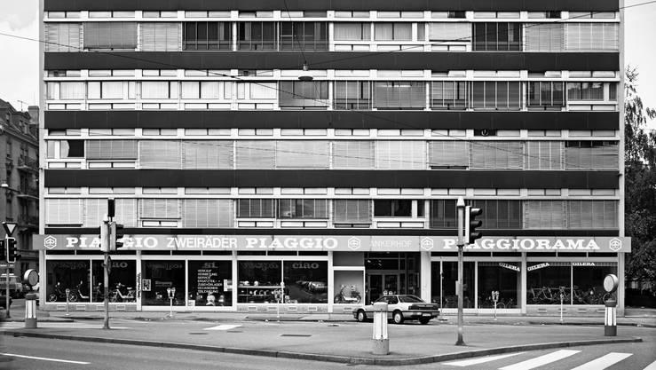 Das Piaggiohaus des Schweizer Architekten Otto Glaus aus den 1950er-Jahren.