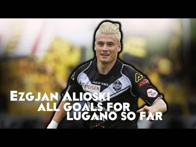 Ezgjan Alioski ist als Stürmer sehr spektakulär. Alle seine Tore im Dress des FC Lugano