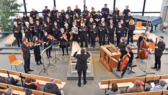 Der katholische Kirchenchor Hägendorf-Rickenbach vermochte das Publikum mit barocken Werken zu begeistern.