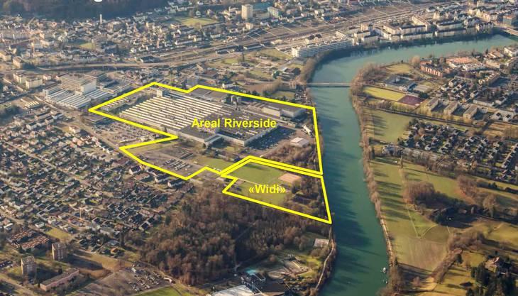 Die Dimensionen sind riesig. Das Widi-Areal beispielsweise, das die Gemeinde verkaufen soll, entspricht mindestens vier Fussballplätzen.